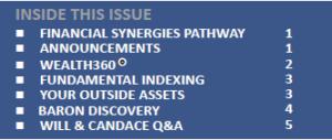 Q1 2015 Newsletter